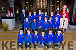 Miss O'Sullivan Sixth class students from CBS primary were confirmed by Bishop Ray Browne  at St. John's Church Tralee on Thursday