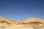 Israel, Negev, the Big Fin at the Hatira ridge