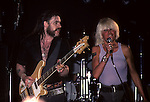 Lemmy & Wendy O Williams . 10th Anniversary concert London England Motorhead, Lemmy , Motorhead