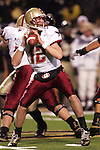 4 November 2006: Boston College quarterback Matt Ryan. Wake Forest defeated Boston College 21-14 at Groves Stadium in Winston-Salem, North Carolina in an Atlantic Coast Conference college football game.