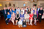 80th Birtgday: Kay Landy, Listowel, centre front celebrating her 80th birthday with family & friends at the Listowel Arms Hotel on Saturday night last.
