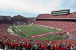 A general view of Camp Randall Stadium during the Wisconsin Badgers NCAA college football game against the Austin Peay Governors on September 25, 2010 at Camp Randall Stadium in Madison, Wisconsin. The Badgers beat the Governors 70-3. (Photo by David Stluka)