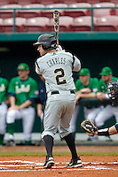Purdue Boilermakers second baseman Eric Charles #2 during a game against the Notre Dame Fighting Irish at the Big Ten/Big East Challenge at Al Lang Stadium on February 19, 2012 in St. Petersburg, Florida.  (Mike Janes/Four Seam Images)