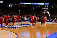 NWA Democrat-Gazette/J.T. WAMPLER Seton Hall and Arkansas practiced Thursday Mar. 16, 2017 at the Bon Secours Wellness Arena in Greenville, South Carolina. The Hogs take on Seton Hall Friday in the first round of the NCAA Tournament.
