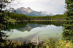 HERBERT LAKE, BANFF NATIONAL PARK, ALBERTA,CANADA