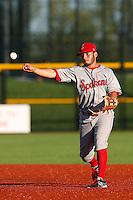 Janluis Castro #1 of the Spokane Indians before a game against the Hillsboro Hops at Hillsboro Ballpark on July 22, 2013 in Hillsboro Oregon. Spokane defeated Hillsboro, 11-3. (Larry Goren/Four Seam Images)
