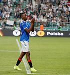 22.08.2019 Legia Warsaw v Rangers: Joe Aribo
