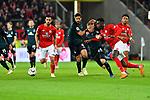 04.11.2018, Opel-Arena, Mainz, GER, 1 FBL, 1. FSV Mainz 05 vs SV Werder Bremen, <br /> <br /> DFL REGULATIONS PROHIBIT ANY USE OF PHOTOGRAPHS AS IMAGE SEQUENCES AND/OR QUASI-VIDEO.<br /> <br /> im Bild: Johannes Eggestein (SV Werder Bremen #24) gegen Moussa Niakhate (FSV Mainz #19)<br /> <br /> Foto © nordphoto / Fabisch
