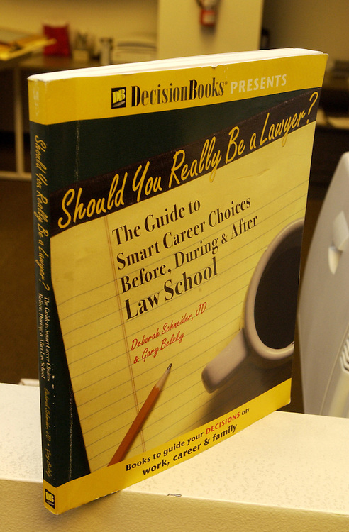 Book - Should You Really Be a Lawyer?
