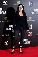 Ana Arias attends to 'Morir para contar' film premiere during the Madrid Premiere Week at Callao City Lights cinema in Madrid, Spain. November 13, 2018. (ALTERPHOTOS/A. Perez Meca) /NortePhoto.com