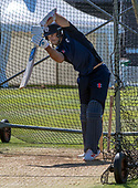 Issued by Cricket Scotland - Scotland capt Kyle Coetzer gets in some practice ahead of tomorrow's (sat) Scotland V Sri Lanka 1st One Day International at Grange CC, Edinburgh - picture by Donald MacLeod - 17.05.19 - 07702 319 738 - clanmacleod@btinternet.com - www.donald-macleod.com