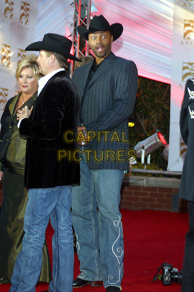 JOHN RICH, COWBOY TROY.The 44th Annual ASCAP Country Music Awards held at the Ryman Auditorium, Nashville, Tennessee, USA, .23 October 2006..full length  hat funny face.Ref: ADM/RR.www.capitalpictures.com.sales@capitalpictures.com.©Randi Radcliff/AdMedia/Capital Pictures.