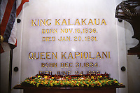Leis presented at Royal Mausoleum