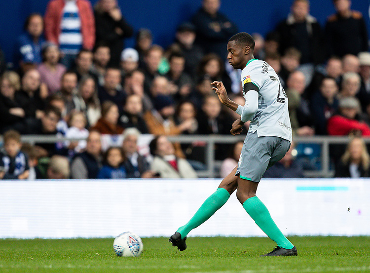 Blackburn Rovers' Tosin Adarabioyo <br /> <br /> Photographer Andrew Kearns/CameraSport<br /> <br /> The EFL Sky Bet Championship - Queens Park Rangers v Blackburn Rovers - Saturday 5th October 2019 - Loftus Road - London<br /> <br /> World Copyright © 2019 CameraSport. All rights reserved. 43 Linden Ave. Countesthorpe. Leicester. England. LE8 5PG - Tel: +44 (0) 116 277 4147 - admin@camerasport.com - www.camerasport.com