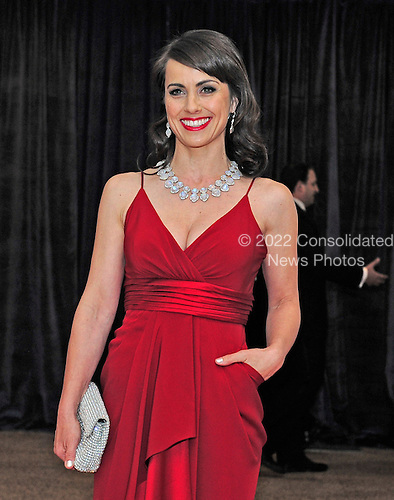 Constance Zimmer arrives for the 2013 White House Correspondents Association Annual Dinner at the Washington Hilton Hotel on Saturday, April 27, 2013..Credit: Ron Sachs / CNP.(RESTRICTION: NO New York or New Jersey Newspapers or newspapers within a 75 mile radius of New York City)