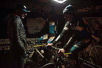 post-race warm down for the Telenet-Fidea guys<br /> <br /> Superprestige Diegem 2015