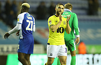 Blackburn Rovers' Craig Conway at the end of todays match<br /> <br /> Photographer Rachel Holborn/CameraSport<br /> <br /> The EFL Sky Bet Championship - Wigan Athletic v Blackburn Rovers - Wednesday 28th November 2018 - DW Stadium - Wigan<br /> <br /> World Copyright © 2018 CameraSport. All rights reserved. 43 Linden Ave. Countesthorpe. Leicester. England. LE8 5PG - Tel: +44 (0) 116 277 4147 - admin@camerasport.com - www.camerasport.com