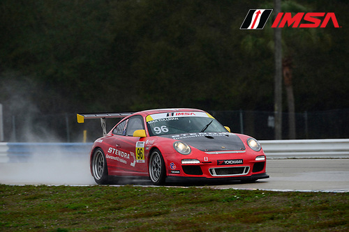 24-25 February, 2016, Sebring, Florida USA<br /> 96, Maxwell Tullman, Gold, M, 2012 Porsche<br /> &copy;2016, Richard Dole<br /> LAT Photo USA