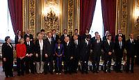 20130428 ROMA-POLITICA: IL GOVERNO DI ENRICO LETTA GIURA AL QUIRINALE