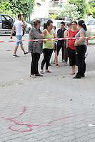 Un arresto per  omicidio della piccola Fortuna Loffredo, la bimba di soli sei anni morta dopo essere precipitata   il 24 giugno 2014 nel parco Verde di Caivano alla periferia. <br /> foto archivio il luogo della tragedia