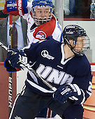 Shayne Thompson (Lowell - 23), Blake Kessel (UNH - 20) - The visiting University of New Hampshire Wildcats defeated the University of Massachusetts-Lowell River Hawks 3-0 on Thursday, December 2, 2010, at Tsongas Arena in Lowell, Massachusetts.
