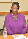MIAMI, FL - FEBRUARY 06: Sybrina Fulton backstage during the signing of Tracy and Sybrina book 'Rest In Power: The Enduring Life Of Trayvon Martin' at Miami Dade College on February 6, 2017 in Miami, Florida. ( Photo by Johnny Louis / jlnphotography.com )
