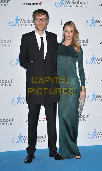 LONDON, ENGLAND - JUNE 27: Stephen Merchant &amp;  Emma Merchant attend the Walkabout Foundation's Inaugural Gala, Natural History Museum, Cromwell Rd., on Saturday June 27, 2015 in London, England, UK. <br /> CAP/CAN<br /> &copy;Can Nguyen/Capital Pictures