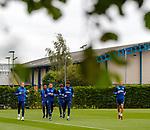 30.08.2019 Rangers training: Scott Arfield, Alfredo Morelos, James Tavernier, Joe Aribo, Connor Goldson and Nikola Katic