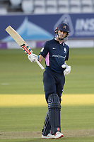 John Simpson of Middlesex CCC acknowledges his half century during Middlesex vs Lancashire, Royal London One-Day Cup Cricket at Lord's Cricket Ground on 10th May 2019