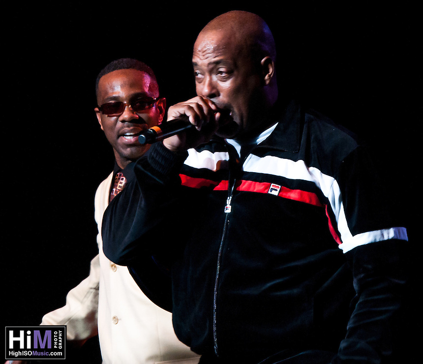 Whodini performing at Legends of Hip Hop in New Orleans.