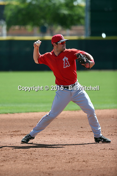 Kenny Towns - Los Angeles Angels 2016 spring training (Bill Mitchell)