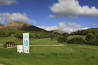 The 10th tee during the Pro-Am of the Challenge Tour Grand Final 2019 at Club de Golf Alcanada, Port d'Alcúdia, Mallorca, Spain on Wednesday 6th November 2019.<br /> Picture:  Thos Caffrey / Golffile<br /> <br /> All photo usage must carry mandatory copyright credit (© Golffile | Thos Caffrey)