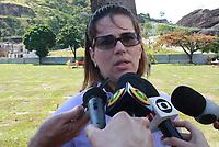 RIO DE JANEIRO, RJ, 06.01.2019: VIOLENCIA-RIO - Enterro do policial militar Daniel Henrique Mariotti neste domingo (06), no Cemitério Jardim da Saudade, em Sulacap, na Zona Oeste do Rio. O policial morreu ao ser baleado na cabeça, na tarde de sábado, enquanto tentava impedir assaltos na Linha Amarela. Ele é o primeiro PM assassinado por bandidos em 2019. O enterro de Daniel está marcado para às 16h30. (Foto: Celso Barbosa/Código19)