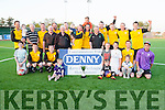 Rathtoo Rovers winners of the Denny's Premier  B Final on saturday night at Mounthawk Park,Tralee