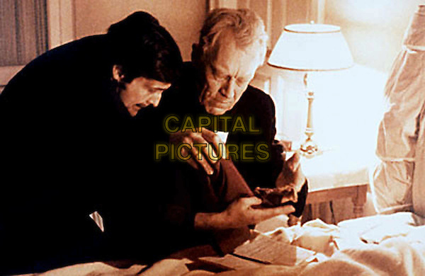 JASON MILLER.MAX VON SYDOW.in The Exorcist.Filmstill - Editorial Use Only.Ref: FB.sales@capitalpictures.com.www.capitalpictures.com.Supplied by Capital Pictures.
