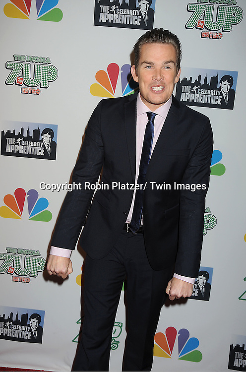 """Mark McGrath posing for photographers at """"The Celebrity Apprentice"""".Season Four Finale Party on May 22, 2011 at The Trump Soho Hotel in New York City."""