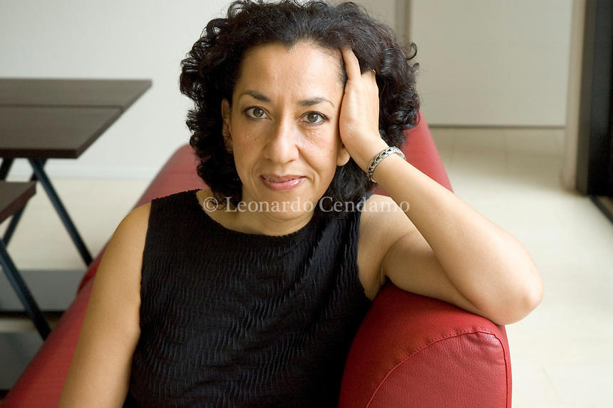 Mantova, Italy September 2005, Andrea Levy, British writer born in London to Jamaican parents. Her work deals with life of black British-born citizien of Jamaican emigrants.
