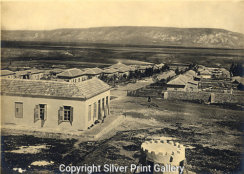 Menachemia, Jordan Valley, first Jewish settlement Jordan Valley, Leo Kann photographer, landscape, 1912,
