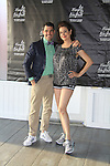 Actress Sean Young & Douglas Webster (artistic director) both skated at Ice Theatre of New York's Celeb Skate 2013 on June 9, 2013 at the Sky Rink at Chelsea Piers, New York City, New York. (Photo by Sue Coflin/Max Photos)