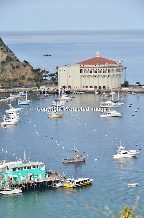 Stock photo of Avalon Catalina Island