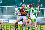 Kieran Donaghy, Kerry, in action against Michael Murphy, Donegal, in the national Football League, Division 1, Round 4, at Austin Stack Park, Tralee on Sunday.
