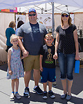 The Mefford family during Art Fest on Saturday June 30, 2018 in downtown Reno.