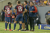 Tampa, FL - July 12, 2017: Bruce Arena The USMNT (USA) defeated Martinique (MAR) 3-2 in a 2017 Gold Cup group stage match at Raymond James Stadium.