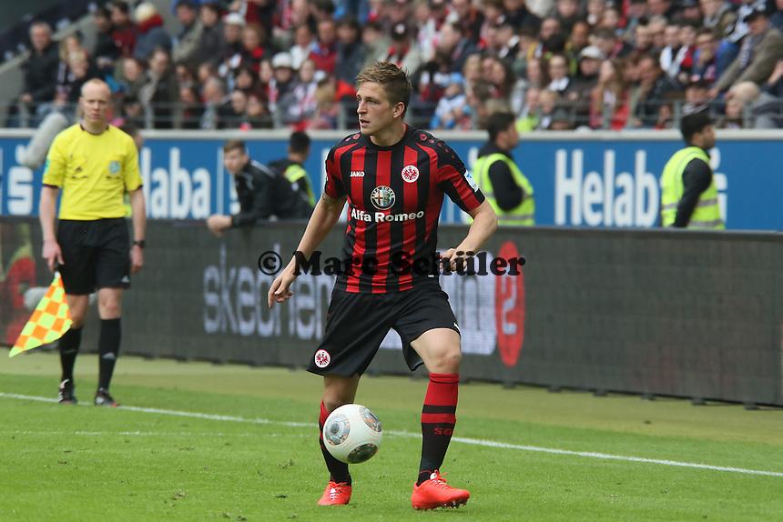 Bastian Oczipka (Eintracht) - Eintracht Frankfurt vs. Bayer Leverkusen, Commerzbank Arena