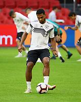 Serge Gnabry (Deutschland Germany) - 12.10.2018: Abschlusstraining der Deutschen Nationalmannschaft vor dem UEFA Nations League Spiel gegen die Niederlande