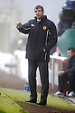 12/12/2009  Copyright  Pic : James Stewart.sct_jspa21_motherwell v celtic  . :: MOTHERWELL MANAGER JIM GANNON TRIES TO GET HIS INSTRUCTIONS OUT THROUGH THE FIRST HALF FOG :: .James Stewart Photography 19 Carronlea Drive, Falkirk. FK2 8DN      Vat Reg No. 607 6932 25.Telephone      : +44 (0)1324 570291 .Mobile              : +44 (0)7721 416997.E-mail  :  jim@jspa.co.uk.If you require further information then contact Jim Stewart on any of the numbers above.........