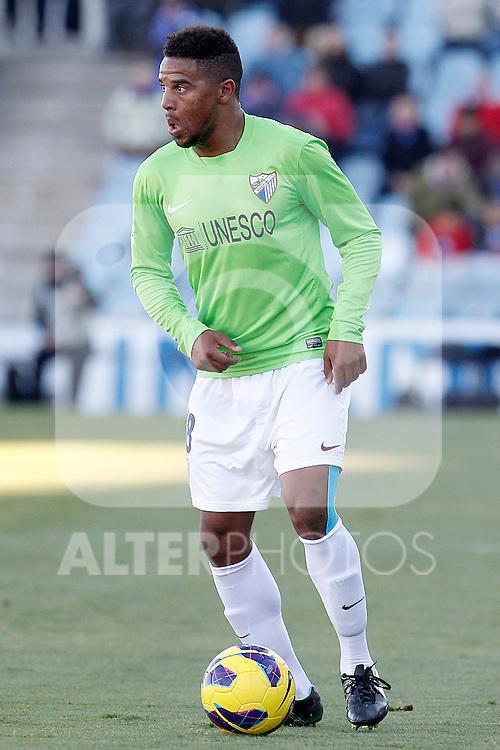 Malaga's Eliseu Pereira during La Liga match.December 01,2012. (ALTERPHOTOS/Acero)