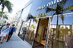 Miu Miu, Rodeo Drive, Beverly Hills, CA