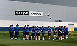 Northern Ireland train in the build up to the International friendly match against New Zealand, City Football Academy, Manchester. Picture date: May 23rd, 2017. Picture credit should read: Simon Bellis/Sportimage