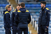 Shrewsbury Town players inspect the pitch during Portsmouth vs Shrewsbury Town, Sky Bet EFL League 1 Football at Fratton Park on 15th February 2020